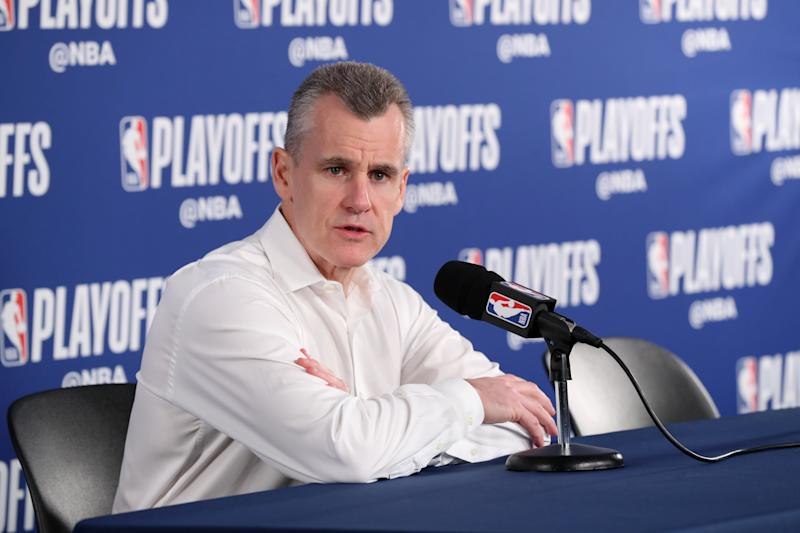 Presti 'anticipates' Billy Donovan returning for fifth season as Thunder coach