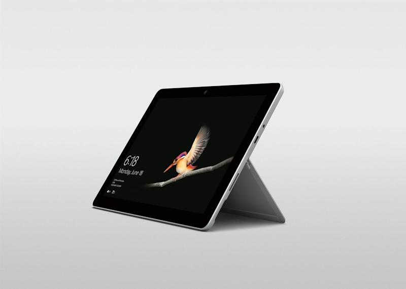 Microsoft Debuts $399 Surface Go Tablet, Taking on Cheaper iPads