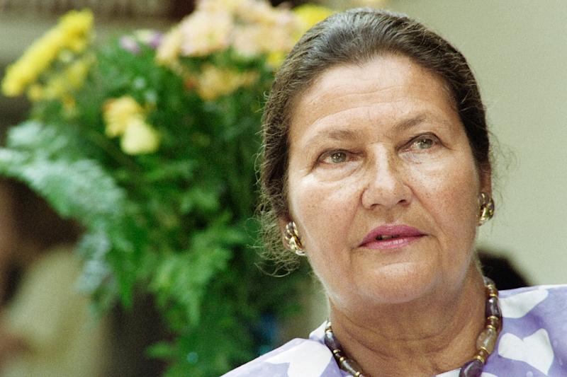 France's Simone Veil, first of only two women presidents of the European Parliament, pictured in 1992 (AFP Photo/Franz CHAVAROCHE)
