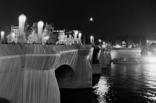 His 1985 project covering Paris's oldest bridge, the Pont Neuf, is one of his most famous works