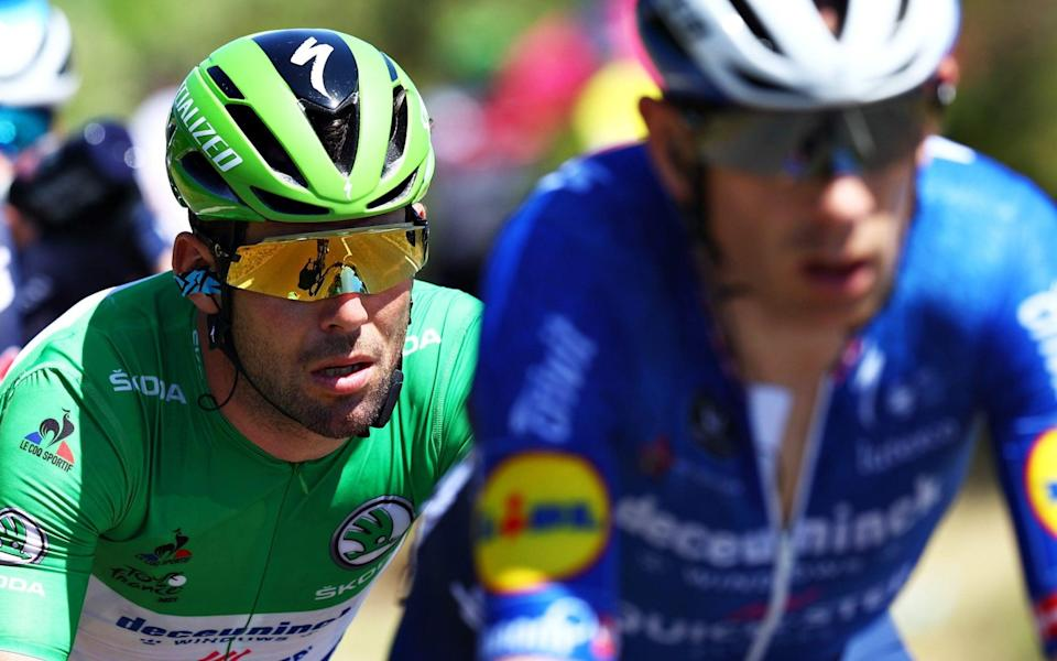 Mark Cavendish - GETTY IMAGES