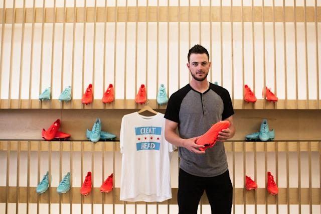 Kris Bryant and two colors of the new