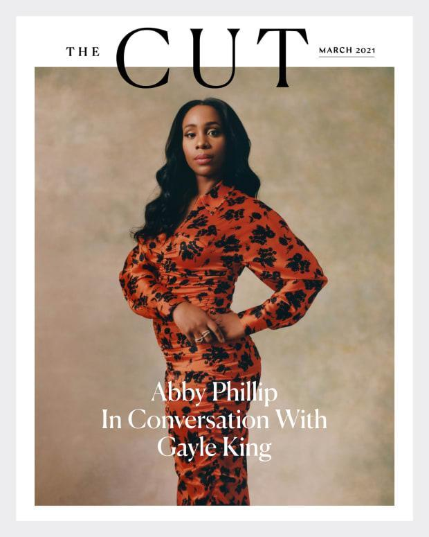 Abby Phillip on the March 2021 cover of The Cut.
