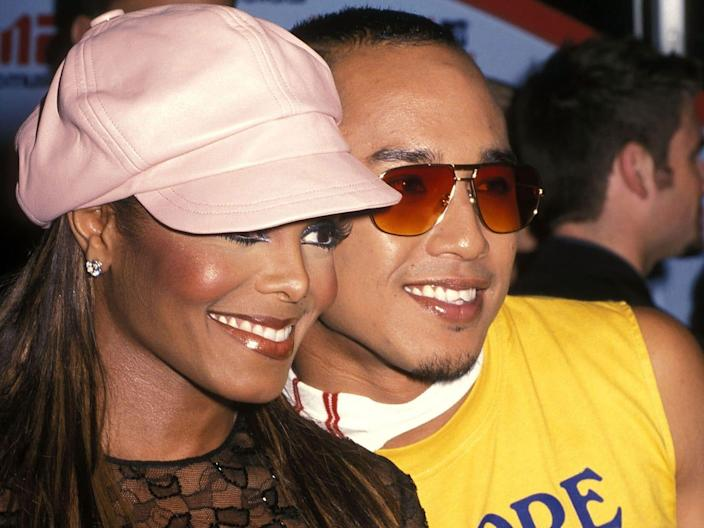 Singer Janet Jackson and dancer Gil Duldulao, Jr. attend the 18th Annual MTV Video Music Awards