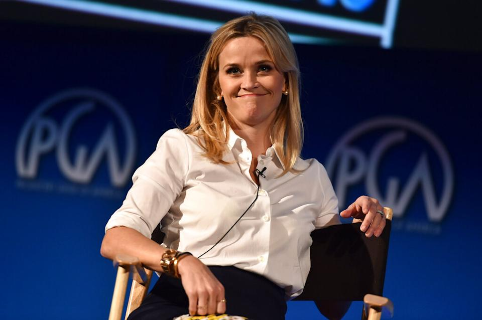 Reese Witherspoon refuses to be placed in a box. The actress-turned-entrepreneur is using her platform to empower more women leaders. (Photo by Jordan Strauss/Invision for Producers Guild of America/AP Images)