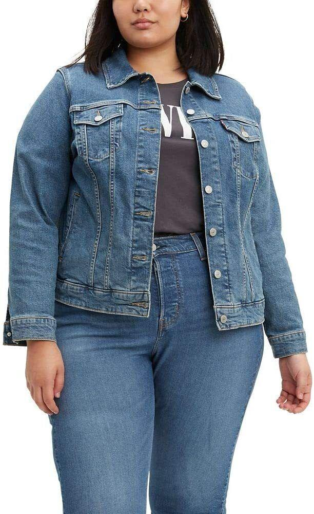 """It'll go with basically everything you already own.<br /><br /><strong>Promising review:</strong>""""I was looking for a new jean jacket to have as a staple being I had to finally let go of my favorite jean jacket that I wore for many years!! It wasn't easy to find one online, however, I came across the Levi Orginal Trucker jacket on Amazon, and I'm so happy I did!! I absolutely love it, and it fits perfectly and can actually be worn in all seasons!! 😊 I highly recommend this jean jacket!! Also, the color is amazing!!"""" —<a href=""""https://amzn.to/3uXtiSY"""" target=""""_blank"""" rel=""""nofollow noopener noreferrer"""" data-skimlinks-tracking=""""5753950"""" data-vars-affiliate=""""Amazon"""" data-vars-href=""""https://www.amazon.com/gp/customer-reviews/R24FW68EZNKJWX?tag=bfabby-20&ascsubtag=5753950%2C20%2C30%2Cmobile_web%2C0%2C0%2C0"""" data-vars-keywords=""""cleaning,fast fashion"""" data-vars-link-id=""""0"""" data-vars-price="""""""" data-vars-retailers=""""Levi,Amazon"""">Amazon Customer<br /><br /></a><strong>Get it from Amazon for<a href=""""https://amzn.to/2RHBk3W"""" target=""""_blank"""" rel=""""nofollow noopener noreferrer"""" data-skimlinks-tracking=""""5753950"""" data-vars-affiliate=""""Amazon"""" data-vars-asin=""""B08B9HSJ2G"""" data-vars-href=""""https://www.amazon.com/dp/B08B9HSJ2G?tag=bfabby-20&ascsubtag=5753950%2C20%2C30%2Cmobile_web%2C0%2C0%2C15974691"""" data-vars-keywords=""""cleaning,fast fashion"""" data-vars-link-id=""""15974691"""" data-vars-price="""""""" data-vars-product-id=""""16253513"""" data-vars-product-img=""""https://m.media-amazon.com/images/I/41UEz8ngnnL.jpg"""" data-vars-product-title=""""Levi's Women's Original Trucker Jacket"""" data-vars-retailers=""""Levi,Amazon"""">$79.50</a>(available in sizes XS-4X and in 14 colors).</strong>"""