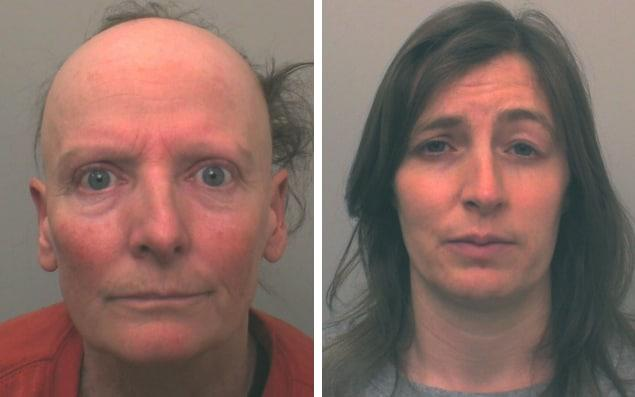 """Sarah Williams, right, recruited her friend, horse riding instructor Katrina """"Kitt"""" Walsh, left, to execute the """"perfect murder"""" of Sadie Hartley - Credit: PA"""