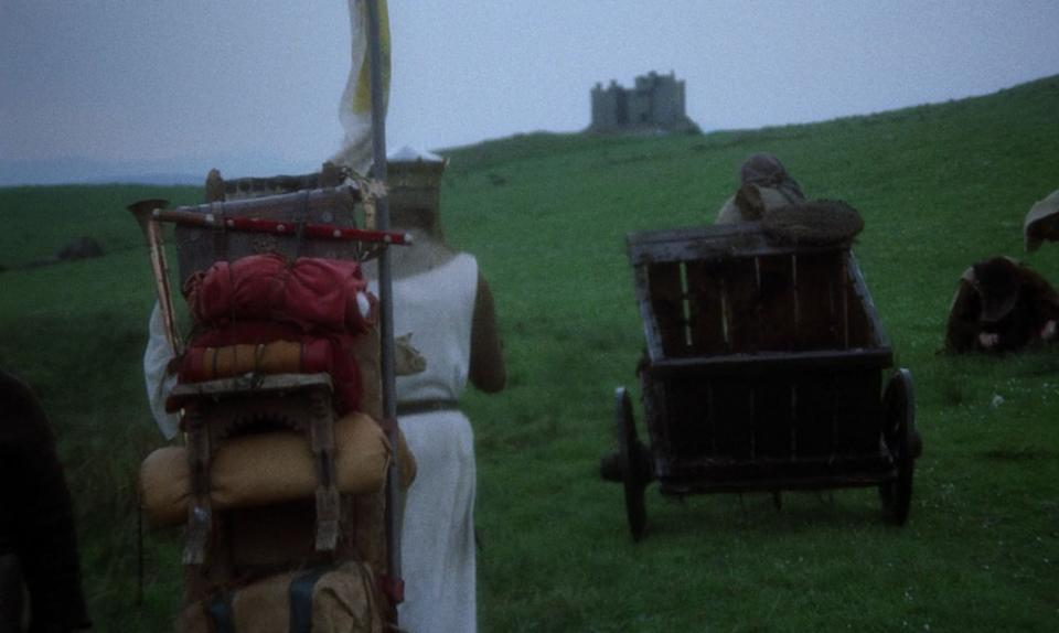 """A scene from """"Monty Python and the Holy Grail."""" (Photo: Cinema 5)"""