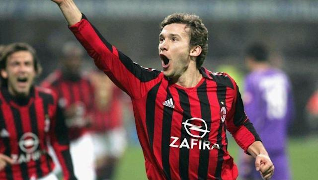 <p>AC Milan's second ever highest goalscorer and the fifth highest in European competitions, Shevchenko joined Milan in 1999 and didn't stop scoring goals until he left the San Siro. </p> <br><p>His best achievements while in Italy were winning the Champions League and the Golden Ball.</p> <br><br>