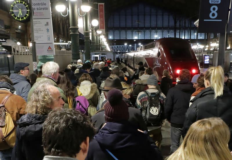 France faces its tenth consecutive day of strikes