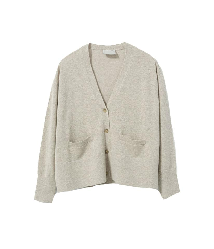 "<p>A grandpa cardigan refreshed for the modern day woman. It's cozy, it's comfy, and it will remind you of home wherever you are. <br /><a rel=""nofollow"" href=""https://fave.co/2AGsgAK""><strong>Shop it:</strong> </a>$150, <a rel=""nofollow"" href=""https://fave.co/2AGsgAK"">everlane.com</a> </p>"