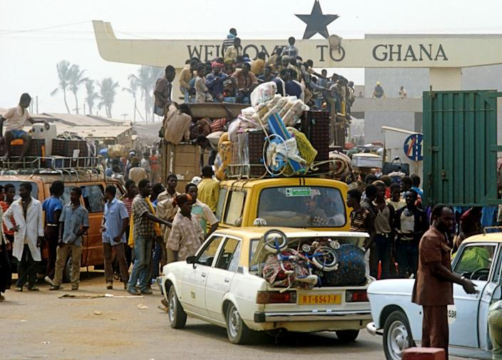 The expulsions of undocumented foreigners by Nigeria in 1983 led to chaotic scenes at border posts