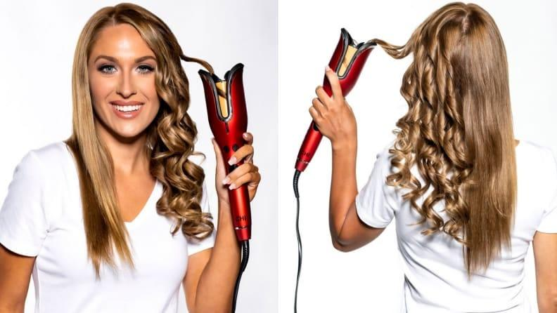 This effective hair styling tool is as gorgeous as it is fun.