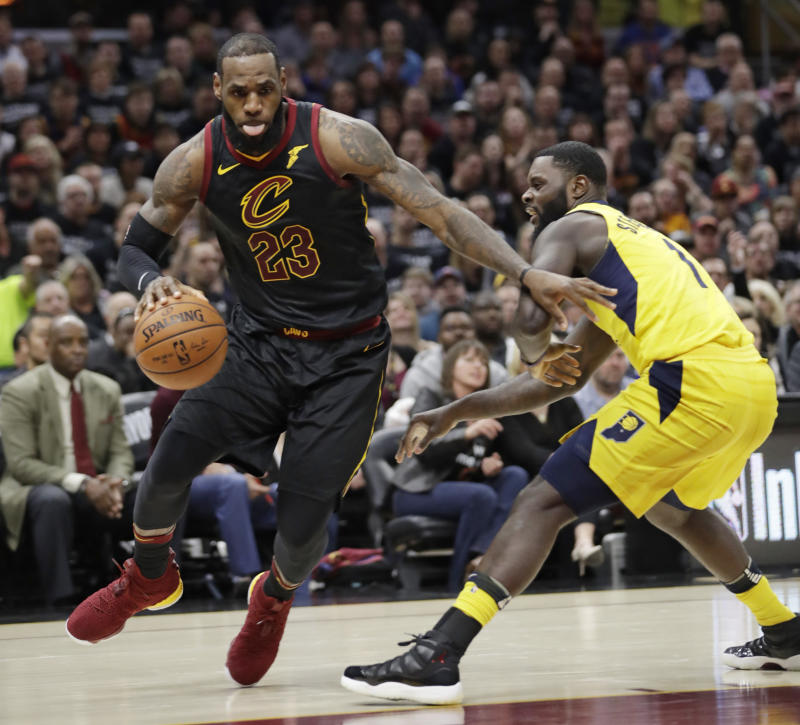 a45fcc0968a6 LeBron James scores 45 as Cleveland beats Indiana in Game 7