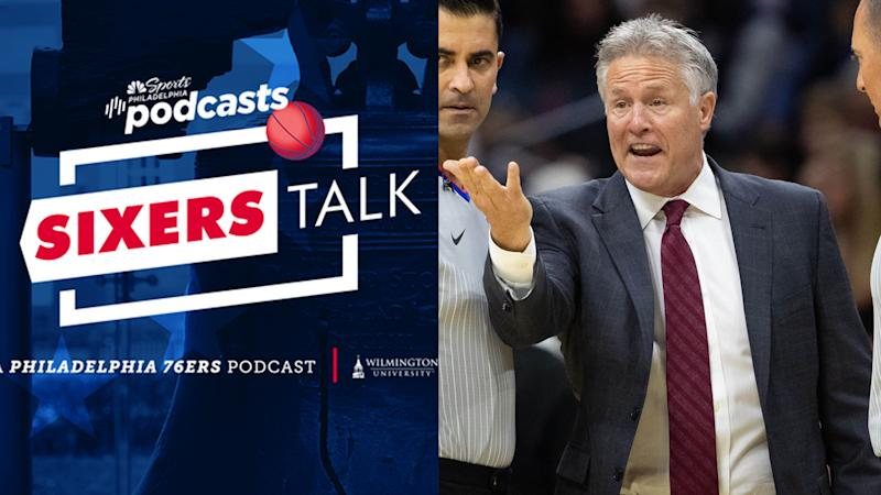 Sixers Talk podcast: Brett Brown isn't sharing dessert with haters