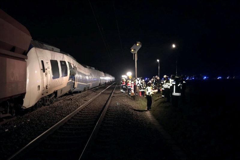 41 blessés dont 7 grièvement — Accident de train