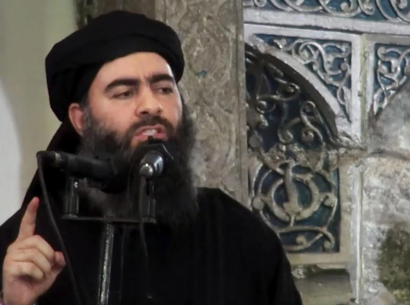 ISIS leader was reportedly injured in an airstrike past year