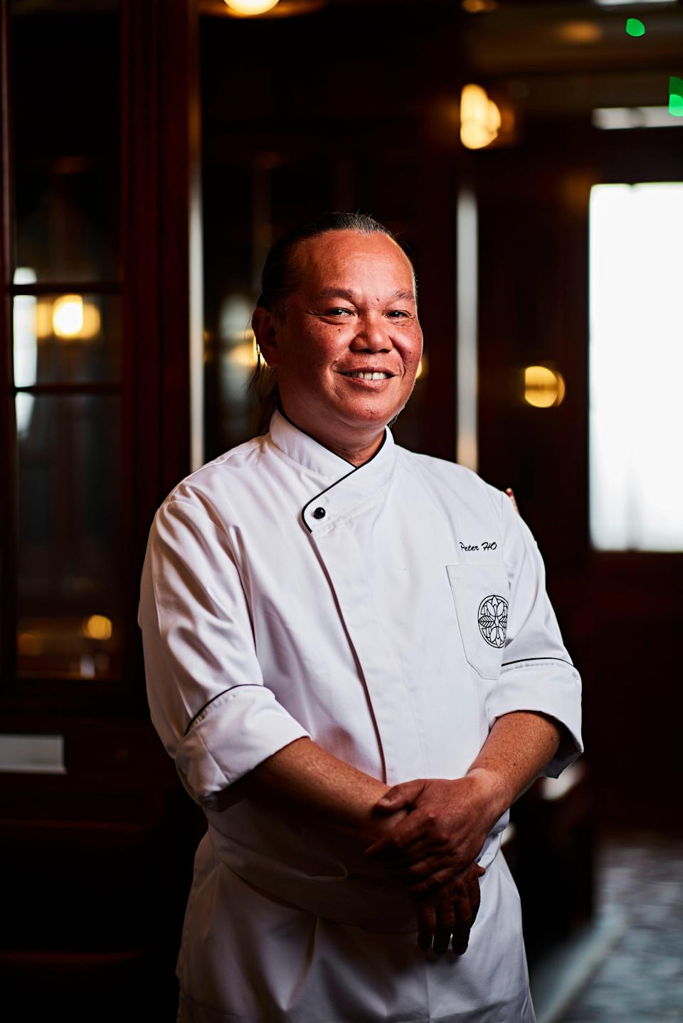 Man in the kitchen: chef Peter Ho will oversee the menu (Steven Joyce)