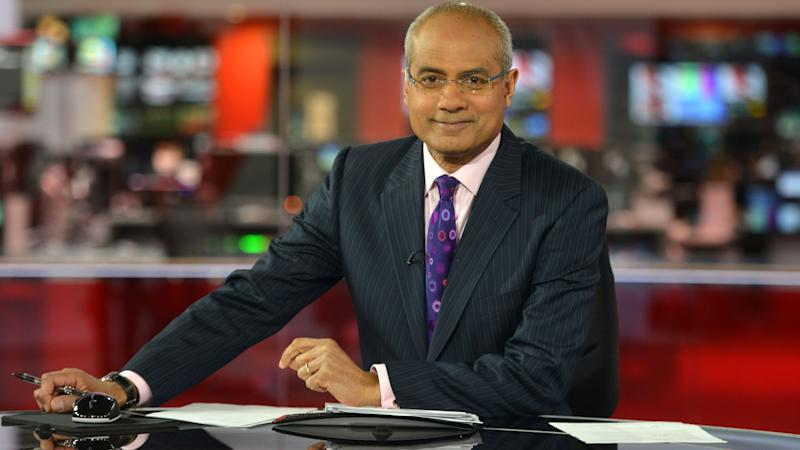 <p>The BBC newsreader said he did not want his wife to see his stoma bag, but that she had to help him clean up after it started leaking.</p>