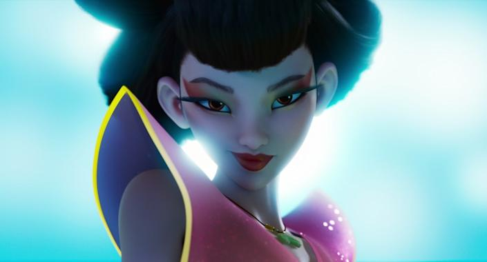 "OVER THE MOON - (Pictured) ""Chang'e"" (Voiced by Phillipa Soo). Cr. NETFLIX © 2020"