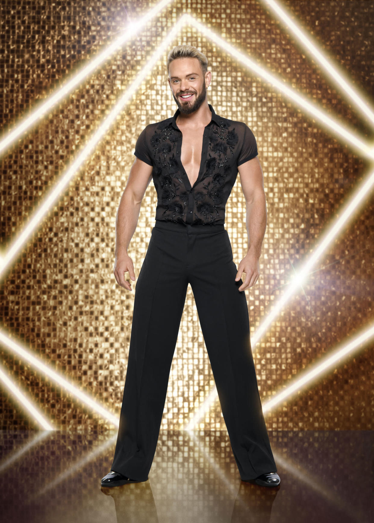 WARNING: Embargoed for publication until 00:00:01 on 12/09/2021 - Programme Name: Strictly Come Dancing 2021 - TX: n/a - Episode: Strictly Come Dancing - Generics (No. n/a) - Picture Shows: *NOT FOR PUBLICATION UNTIL 00:01HRS, SUNDAY 12TH SEPTEMBER, 2021* John Waite - (C) BBC - Photographer: Ray Burmiston
