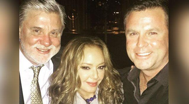 Mike Rinder, Leah Remini and Bryan Seymour in Los Angeles