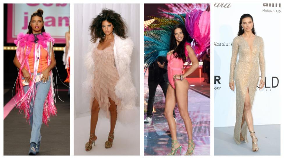 <p>Victoria's Secret model Adriana Lima turns 36 today, so we take a look at some of her best red carpet looks over the years. </p>