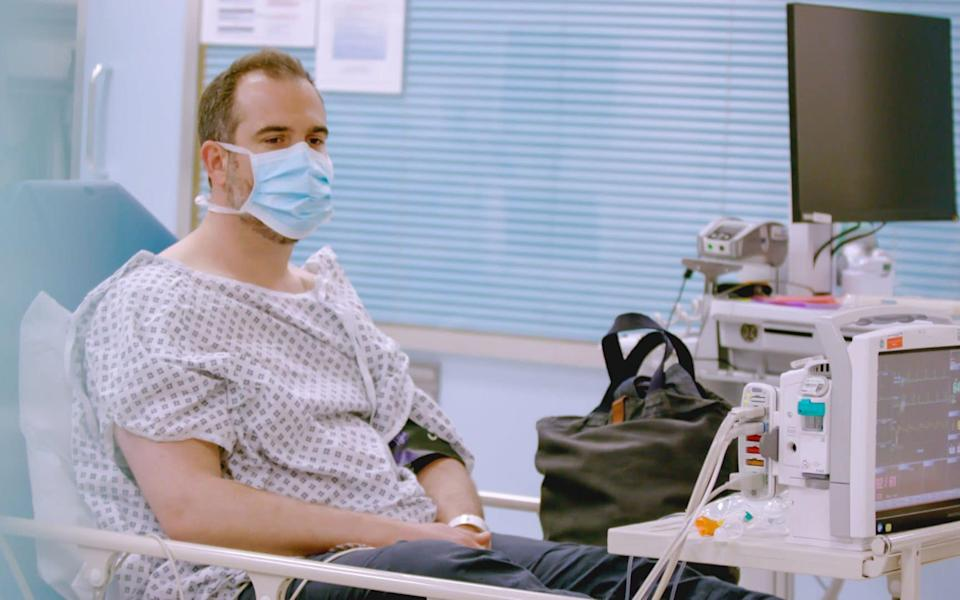 In the documentary, we see Dr Xand van Tulleken shocked with a defibrillator - Little Gem