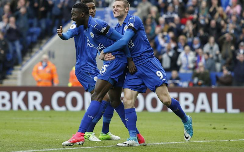Wilfred Ndidi scored a cracking goal against Stoke - Rex Features