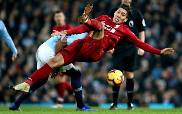 Liverpool and Man City battle it out at the Etihad - PA