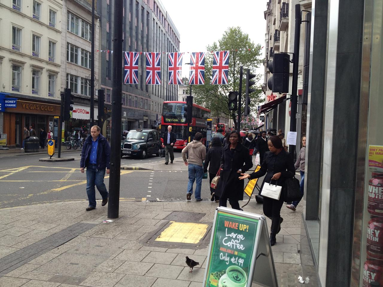 Jubilee being marked in Oxford Street