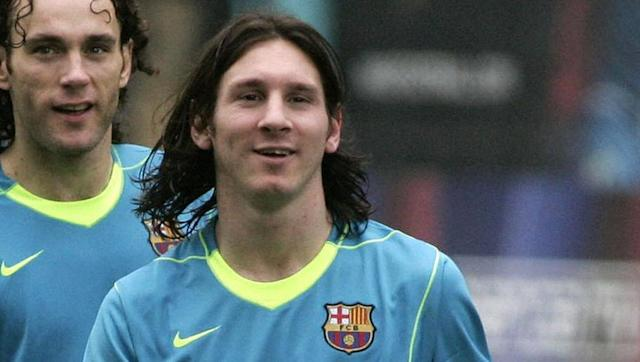 <p>Barcelona superstar Lionel Messi was part of the bleach-blonde fad earlier this season. But 10 years ago a teenage Messi was sporting slicked, long, dark hair as he began his ascent from supreme talent to the very top of the world.</p>