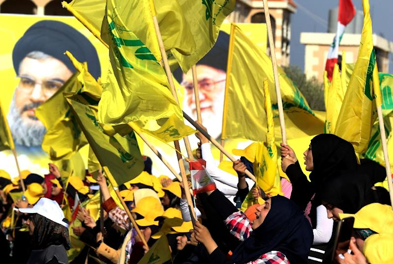 Iran's support for Lebanese Shiite movement Hezbollah, which also backs Syrian President Bashar al-Assad's regime, concerns Israel