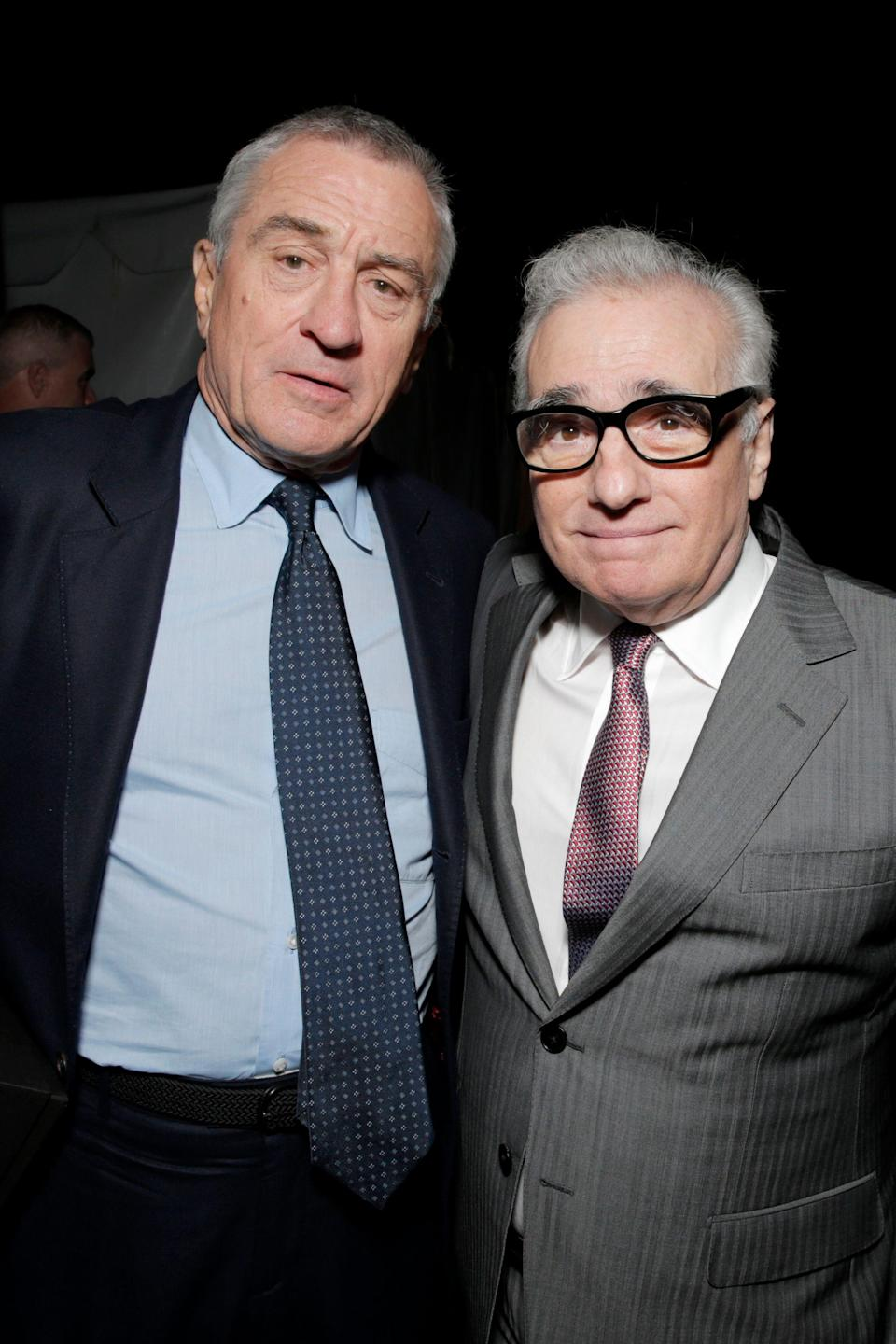"""<p><strong><em>The Irishman</em></strong><br>TBA</p><p>It's happening: The ninth collaboration between Martin Scorsese and Robert De Niro, 10 years in the making. And it's happening on Netflix. De Niro plays Frank """"The Irishman"""" Sheeran, a labor union official with mafia connections. On his deathbed, he claims responsibility for the death of labour organiser Jim Hoffa (Al Pacino).</p><span class=""""copyright"""">Todd Williamson/Invision/AP/REX/Shutterstock</span>"""