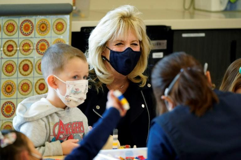 US First Lady Jill Biden will also pitch the administration's plans to the public
