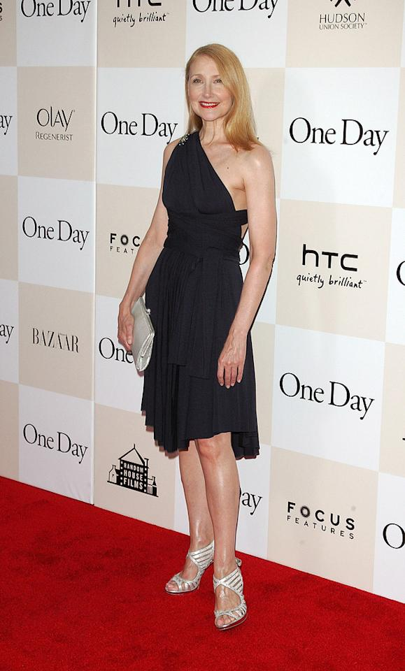 "<a href=""http://movies.yahoo.com/movie/contributor/1800022307"">Patricia Clarkson</a> at the New York City premiere of <a href=""http://movies.yahoo.com/movie/1810197449/info"">One Day</a> on August 8, 2011."
