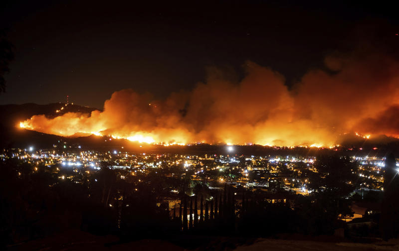 California Wildfires Blackout Legislature