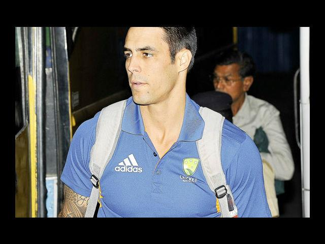 <b>1. Mitchell Johnson</b><br>The 31-year old Queenslander was 2009's ICC Cricketer of the Year, and is a fast swing bowler and lower order batsman for the Mumbai Indians in the IPL.