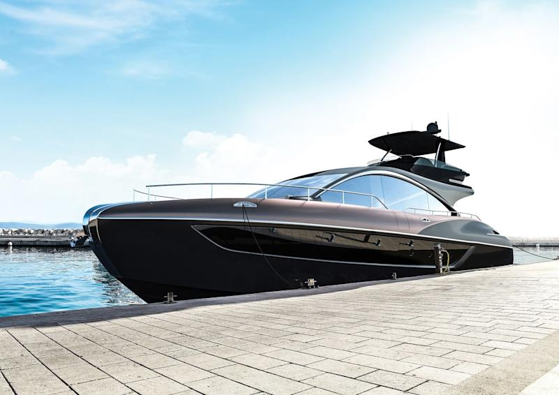 Lexus has debuted its first-ever luxury yacht—take a look