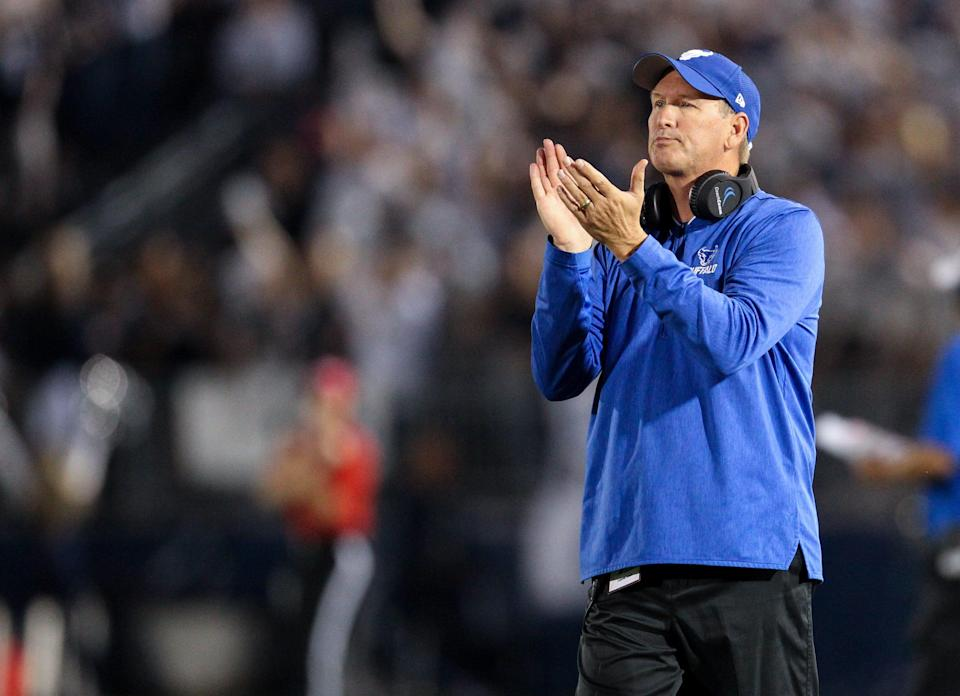 Lance Leipold, who spent the last six seasons with Buffalo, has been hired as Kansas football's next head coach. Leipold went 37-33 as head coach of the Bulls, who have made three straight bowl game appearances.