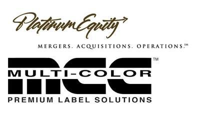 Platinum Equity and Multi-Color Corporation logos