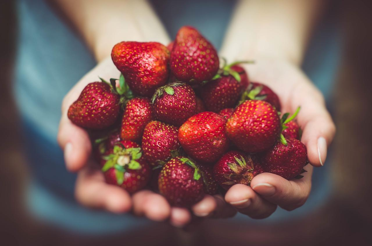 <p>Sugary foods will help you feel less trembly in the short term – opt for fresh fruit [Photo: Pexels] </p>