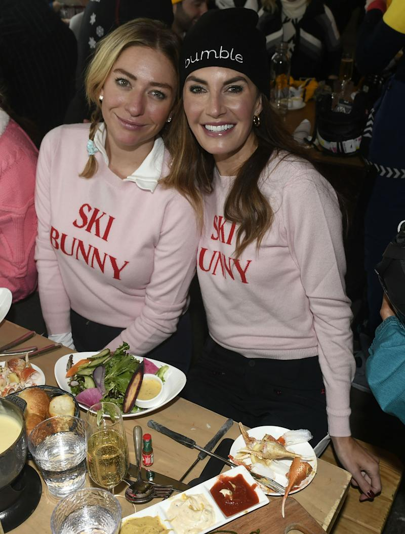 Whitney Wolfe Herd and Elizabeth Chambers Hammer