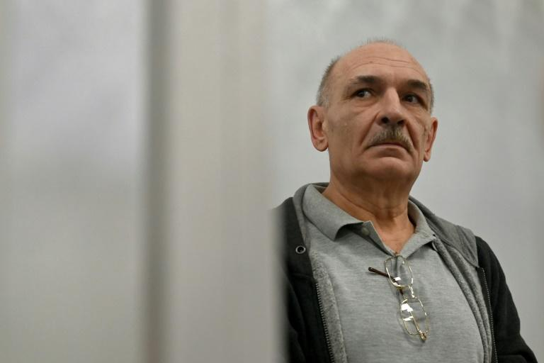 Ukrainian Vladimir Tsemakh is suspected of involvement in the downing of Malaysian Airlines flight MH17 in 2014 (AFP Photo/Sergei SUPINSKY)
