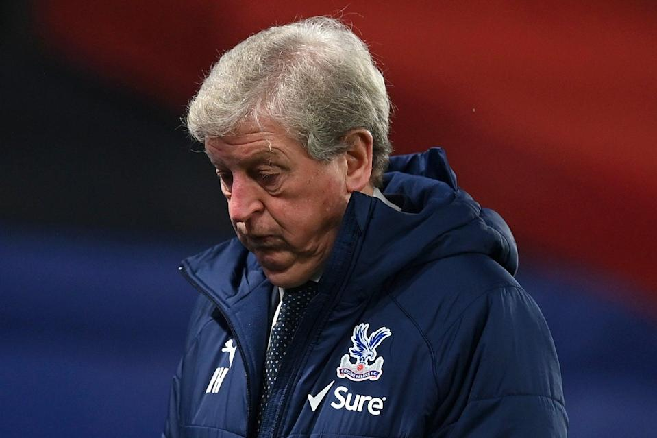 <p>A frustrated Roy Hodgson was more critical of his players than usual after back-to-back losses</p>Getty Images