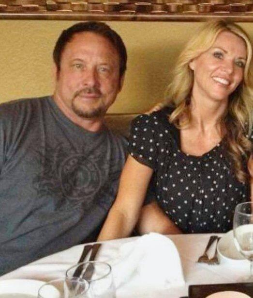 """On Feb. 8, 2019, Lori's then-husband Charles Vallow, with her at right, files for divorce. He seeks custody of their adopted son, Joshua """"J.J."""" Vallow, and in his divorce papers cites Lori's growing embrace of extreme religious views. He alleges Lori believes """"she was a God assigned to carry out the work of the 144,000 at Christ's second coming in July 2020 and that if Father [Charles] got in her way of her mission she would murder him."""""""