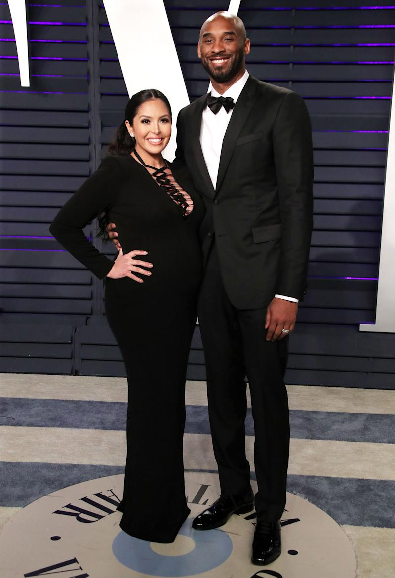 low priced 26851 8b79c Kobe Bryant and Pregnant Wife Vanessa Hit Oscars Afterparty — and Celebrate with  In-N-Out Burger
