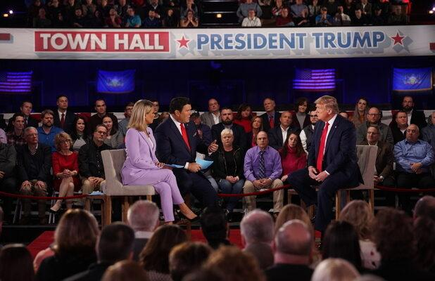 Trump Gives Fox News Most-Watched Cable News Town Hall Ever