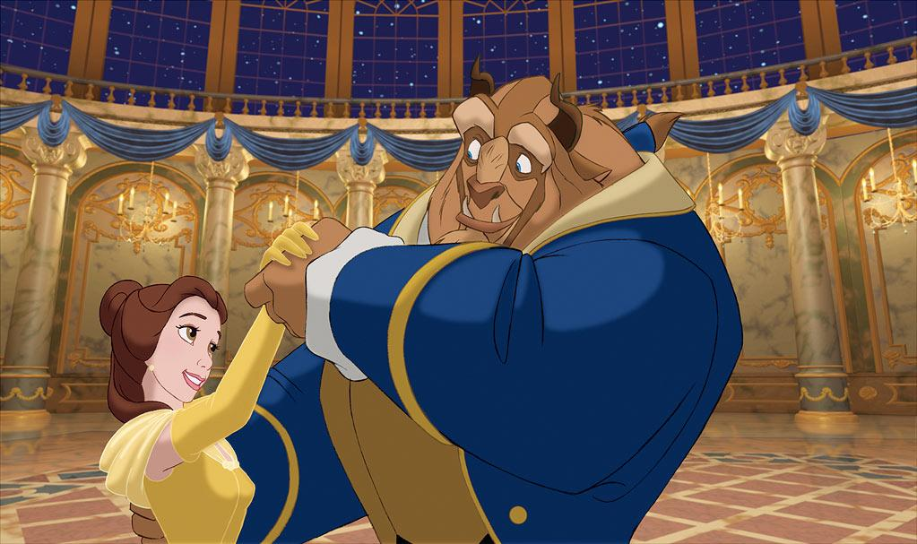 "While 3D enhancement creates an entirely updated look, with its own revolutionary technological aspects, the original animation for ""Beauty and the Beast"" was also quite groundbreaking. This was only Disney's second film to employ its in-house Computer Animation Production System (CAPS), which, among other highly advanced concepts, went beyond normal animation to allow for the use of CGI. The technology was developed with help from Pixar, and it wouldn't be the last time the two companies worked together.    Perhaps nowhere is the technology of CAPS more prominent than in the ballroom-dance sequence, where Belle and the Beast waltz their fannies off. The camera appears to be moving around them as a computer-generated background bursts to life behind them. According to CGI artistic supervisor <a href=""http://www.digitalmediafx.com/Beauty/Features/originalbeauty.html"">Jim Hillin</a>, ""The ballroom sequence features the first computer-generated color background to be both animated and fully dimensional."""