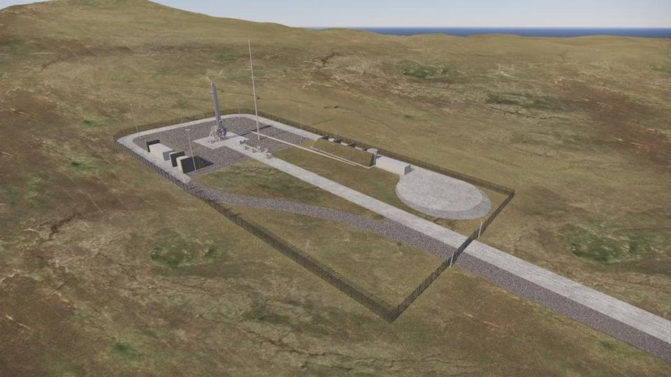 The proposed Space Hub Sutherland (NORR/HIE/PA) (PA Media)
